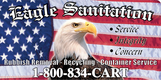 Eagle Sanitation Logo